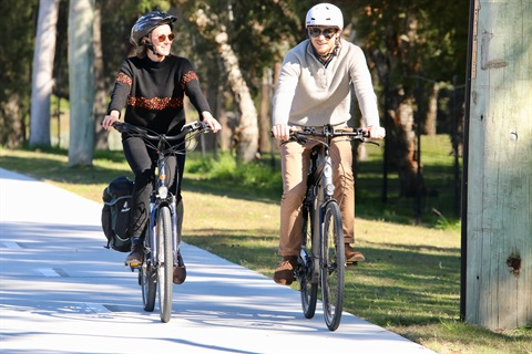 Speers Point to Glendale shared pathway